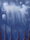Einriß, Öl auf Leinwand, 2002