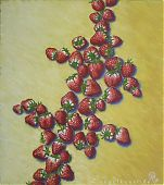 Formstudie (Blitz), 50x45cm, Öl/Lw. 1998